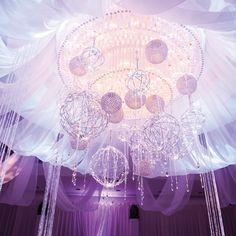 Huppah Orbs & Disco Balls // photo: Eli Turner Studios // Rental Equipment: John Farr Lighting