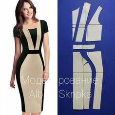 """1,922 curtidas, 16 comentários - Альбина Скрипка (@albinaskripka) no Instagram: """"А вы знаете, что платья бывают умными? Да-да! Умные платья визуально стройнят вашу фигуру! Такие…"""""""
