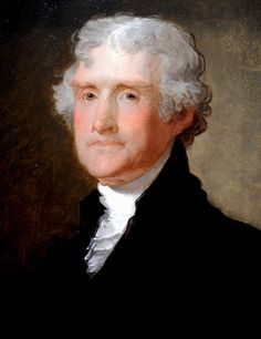 Gilbert Stuart - Thomas Jefferson Portrait at National Art Gallery