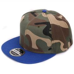 cf6e4d3366f Camo snapback 100% polyester cap blank flat baseball cap with no embroidery  sport mens cap