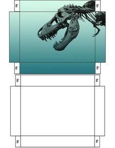 Printable Dinosaur Box