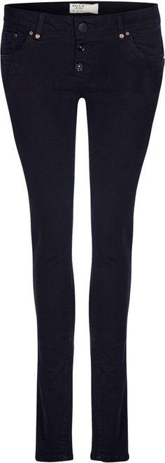 Pulz Jeans Skinny-fit-Jeans »Rosa Midtwaist« für 99,95€. Midwaist-Jeans im Skinny-Fit, Aus hochwertigem Stretch-Denim bei OTTO