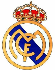 Amazon Com Giant Size Real Madrid Football Club Badge Wall Sticker Sticker Foot
