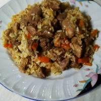 Πλοφ, το ρώσικο πιλάφι Tasty Videos, Grains, Recipies, Food And Drink, Rice, Pasta, Lunch, Beef, Dinner