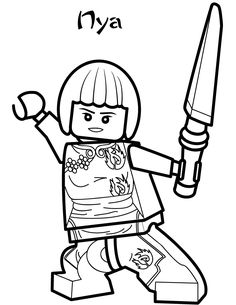 Lego Ninjago Coloring Pages to Improve Your Kid's Coloring Skill. Lego Ninjago tells a story about a young ninja team that confronts some forces of evil. Ninjago Coloring Pages, Coloring For Kids, Printable Coloring Pages, Coloring Pages For Kids, Coloring Sheets, Coloring Book, Lego Ninjago Lloyd, Jay Ninjago, Ninjago Cole
