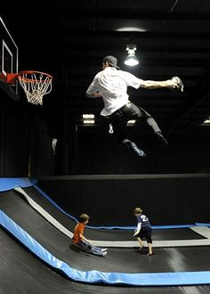 Feb. 21, 2013: Visitors have fun at AirWalk in Birmingham, Ala., on Feb. 18. After four months of construction and $1 million in investment, Alabama's first extreme trampoline arena has opened for business. AirWalk is a facility with almost 8,000 square feet of trampolines, a trampoline dodge ball stadium & an 'Olympic foam pit.'