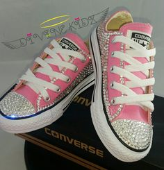 e34377007310 Full Bling Wedding Converse- Bridal Sneakers- Custom Converse Sneakers- Bridal  Chuck Taylors- Wedding Sneakers- Converse hochzeit- Bride