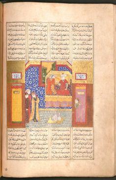 Firdausī: Šāhnāma - BSB Cod.pers. 8. - Iran, 1497 [902 h.] 9 Bayerische Staatsbibliothek