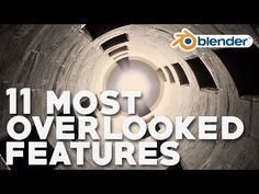 11 Most Overlooked Features in Blender - YouTube