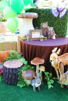 "Photo 1 of 27: Bambi/ Woodland / Baby Shower/Sip & See """"Bambi Baby Shower"""" 