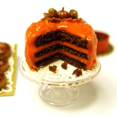 Autumn Cake by Dollhouse Kitchen, via Flickr