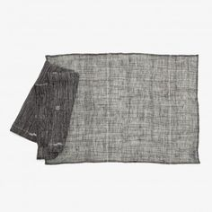 Jaamdani Charcoal Table Linens