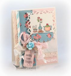 Sending Sweet Thoughts***Stamping**4/1/14