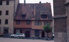 Old House in Rothenburg city, Germany Kodak Retina, Kodak Ektar, Rothenburg Ob Der Tauber, Germany, City, House, Home, Deutsch, Cities