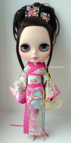 Custom Blythe Dolls By Zebra