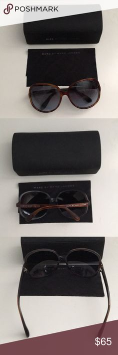 Authentic Marc by Marc Jacobs Tortoise Sunglasses NWOT Authentic Marc by Marc Jacobs Tortoise Sunglasses. Got it as a Bday present and never wore it. MMJ248/S Marc By Marc Jacobs Accessories Glasses