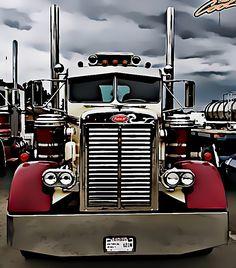 Custom Peterbilt, Peterbilt 379, Peterbilt Trucks, Show Trucks, Big Rig Trucks, Old Trucks, Large Truck, Trucks And Girls, Heavy Truck