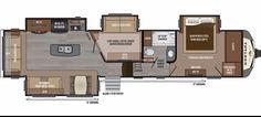 New 2017 Keystone Montana 3950br Fifth-wheel For Sale 1275409