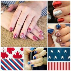 "Order NOW to get ""Born to Sparkle"" in time for you to show off your patriotism for July 4th!  Use this design as a full ""jamicure"" or use the design as an accent nail with matching colors & designs.  ""Born to Sparkle"" is a ""there's more"" design which means every nail sheet has 2 designs!!  Order now at www.jessicaredondo.jamberrynails.net --""Born to Sparkle"" is only available the month of June!  #jamberrynails #nails #diy #love #nailart #design #fashion #jessjamberryjam #order #usa #July4th"