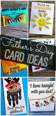 Creative Father's Day Cards for Kids to Make - Easy Gift/Craft ideas!