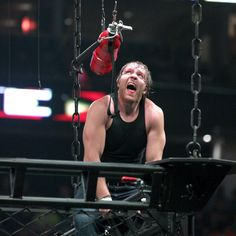 Dean Ambrose vs. Chris Jericho – Asylum Match: photos