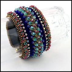 Night Music Cuff Bracelet - Bead&Button Show