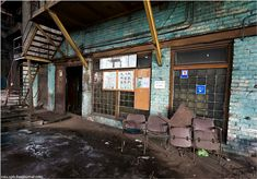 Abandoned And Dangerous Iron And Steel Plant | English Russia | Page 4