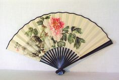 Chinese Folding Fan by LaPoireRouge on Etsy, $10.00