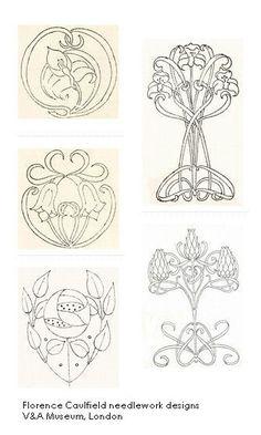 45 Ideas For Art Nouveau Design Drawings Illustrations Fleurs Art Nouveau, Motifs Art Nouveau, Motif Art Deco, Art Nouveau Pattern, Art Nouveau Design, Art Design, Design Styles, Art Nouveau Tattoo, Tatoo Henna