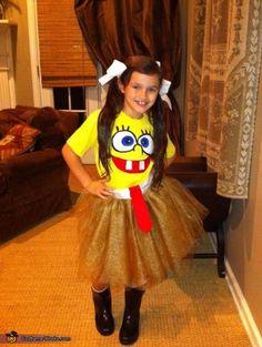 Sponge Bob Sassy Pants DIY Costume this is too cute....who doesn't love sassy pants :)