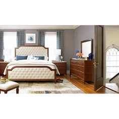 """Mason Bed, King, by Taylor & Thorpe   80""""w x 88""""d x 68""""h   2,160.00 retail as shown"""