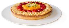 Tarta de crema y fruta fresca Cake Tutorial, Sweet Recipes, Cheesecake, Sweet Home, Pie, Sweets, Baking, Desserts, Quiches