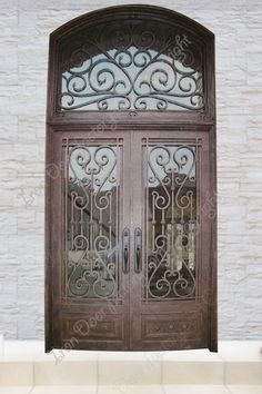 main features airtight seal around door frame and glass panel thick by wide door panel for greater insulation inch handforged iron scrollwork steel is