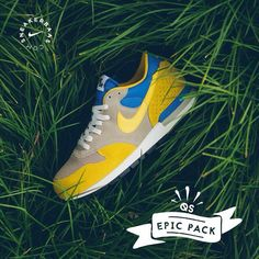 #nike #epicpack #sneakerbaas #baasbovenbaas  Nike Air Epic- Nike season never stops, this is a fresh pack filled with 4 colorways. They know how to end the summer in style.  Now online available | Priced at 119.95 EU | Men Sizes 38.5 - 47.5 EU