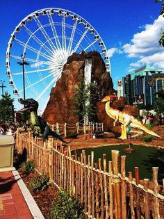 Niagara Skywheel and Dinosaur Park Adventure Golf!  http://www.cliftonhill.com/attractions/niagara-skywheel http://www.cliftonhill.com/attractions/dinosaur-adventure-golf