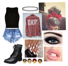 """""""My 5sos concert!!❤️"""" by gummybeartheunicorn12 ❤ liked on Polyvore featuring River Island"""