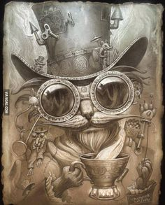 Steampunk Cat Daddy...