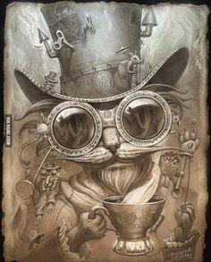 Steampunk Cat Daddy...