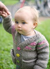 Free Knitting Pattern - Toddler & Children's Clothes: Petra Cardigan