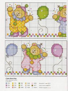 Gallery.ru / Фото #58 - Cross Stitch Teddies - KIM-2