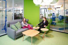 #easyCredit #TeamBank #green #newwork #officedesign #worklifebalance Work Life Balance, New Work, Green, Furniture, Design, Home Decor, Architecture, Projects, Decoration Home