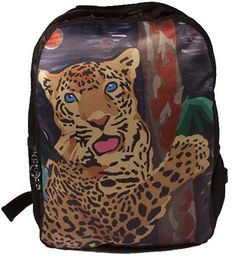 1a666ed0ae5c Jaguar Backpack by Salvador Kitti Book Bag From by SalvadorKitti