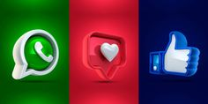 Free Followers On Instagram, Facebook E Instagram, Live Wallpaper Iphone 7, Live Wallpapers, Social Media Icons, Social Media Design, Ad Design, Icon Design, Smiling Person