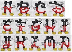 Monograma Mickey 01                                                                                                                                                                                 Más