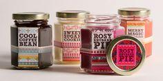 jar packaging, love the colors
