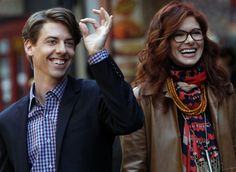 Debra Messing right at home in musical TV show Smash