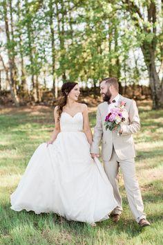 Arkansas wedding featured in Southern Weddings | dress by Essense of Australia
