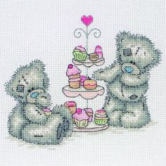 Tatty Ted Cupcakes Kit by Anchor only £18.25 - Past Impressions