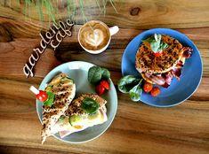 Garden cafe Slovakia Partizanskr breakfast