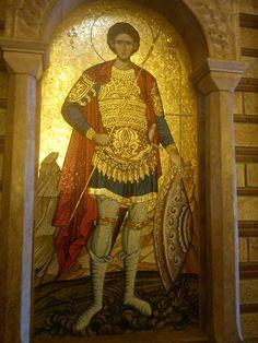 Άγιος Φανουρίος...Θεσσαλονίκη Greece, Saints, Painting, Art, Greece Country, Art Background, Painting Art, Kunst, Paintings